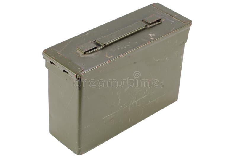 30 Cal Metal Ammo Can imagens de stock royalty free