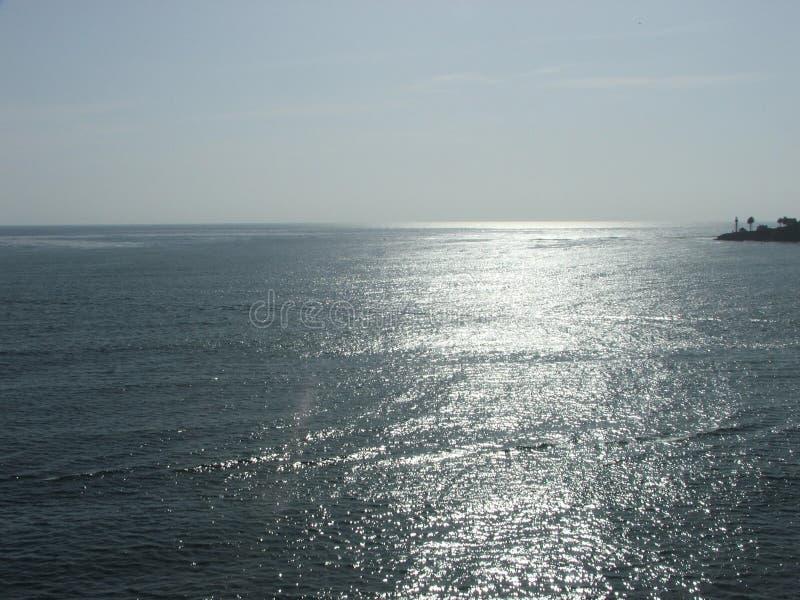 Cal Pacyfik zmierzch obrazy stock