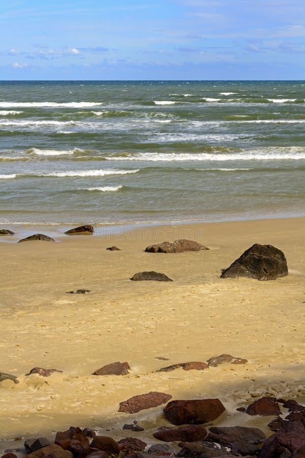 Cal plaża fotografia stock