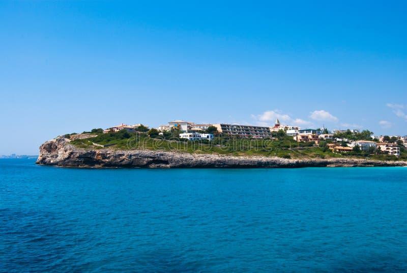 Download Cala Anguila Cape, Hotels And Villas, Majorca Stock Photo - Image: 15032148