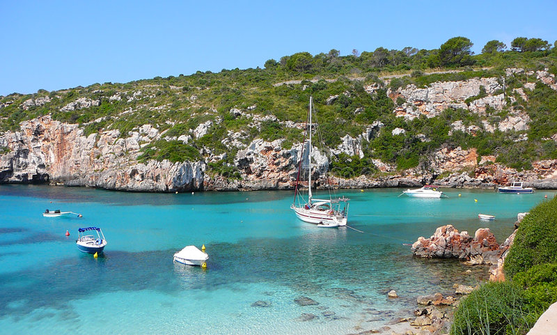 Download Cala Canutells Beach And Ocean Stock Photography - Image: 7216532