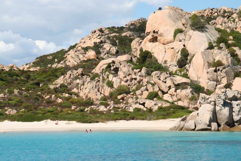 Cala Corsara - Maddalena Archipelago royalty-vrije stock afbeeldingen
