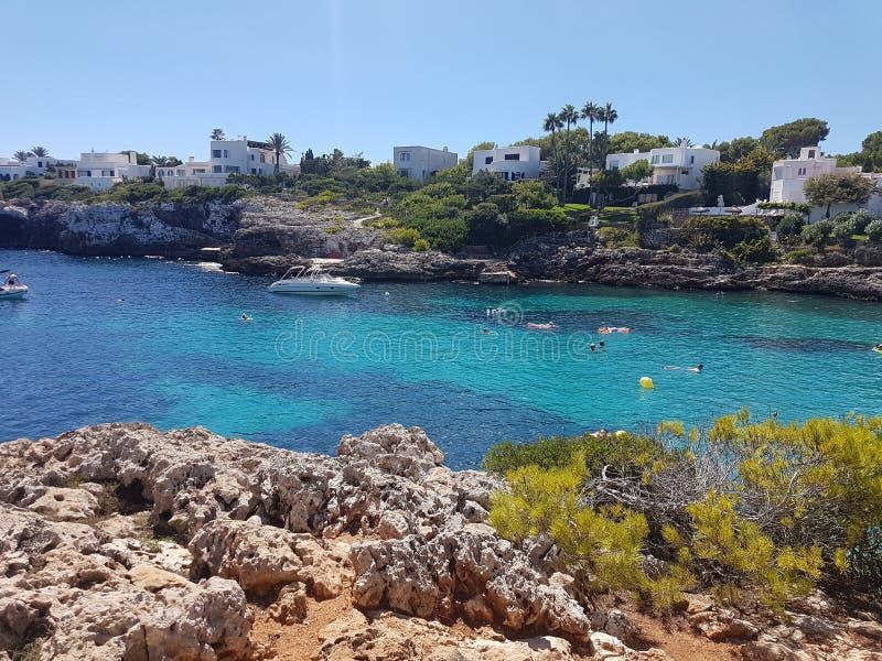 Cala d& x27; Lub Mallorca obraz royalty free