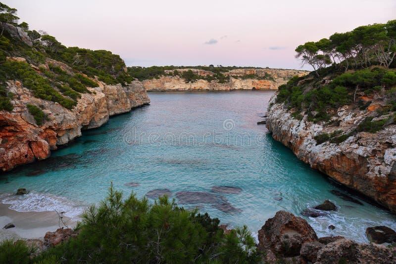 Cala des Moro, Majorca royalty-vrije stock afbeeldingen