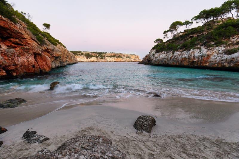 Cala des Moro, Majorca stock afbeelding