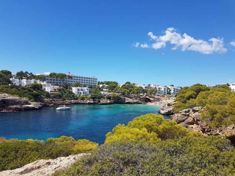 Cala dOr Mallorca obraz royalty free