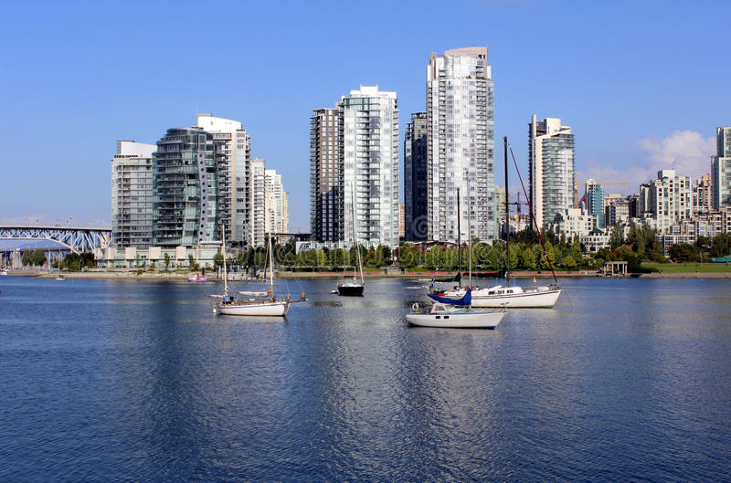 Cala falsa de Vancouver fotografía de archivo