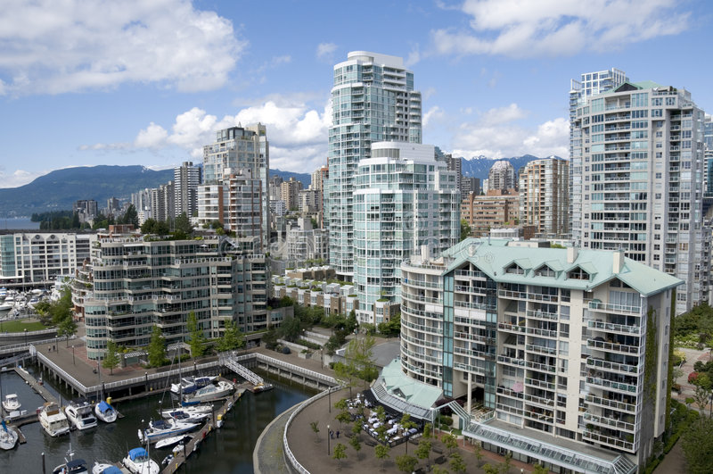 Cala falsa Vancouver imagen de archivo