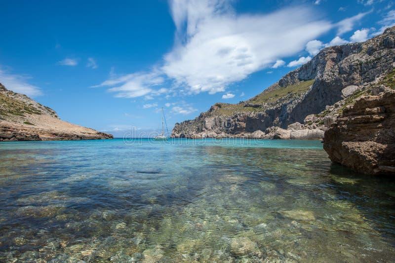 Cala Figuera Beach stock photo