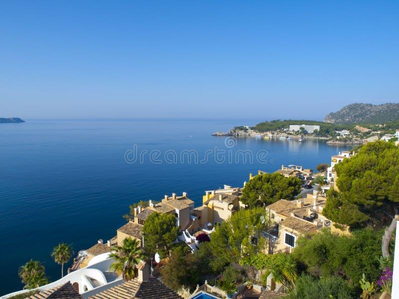 Cala Fornells, Mallorca imagem de stock royalty free