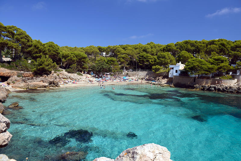 Cala Gat Beach - Mallorca stock photos