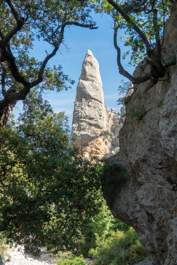 Cala Goloritzé, Sardinia Włochy obrazy royalty free