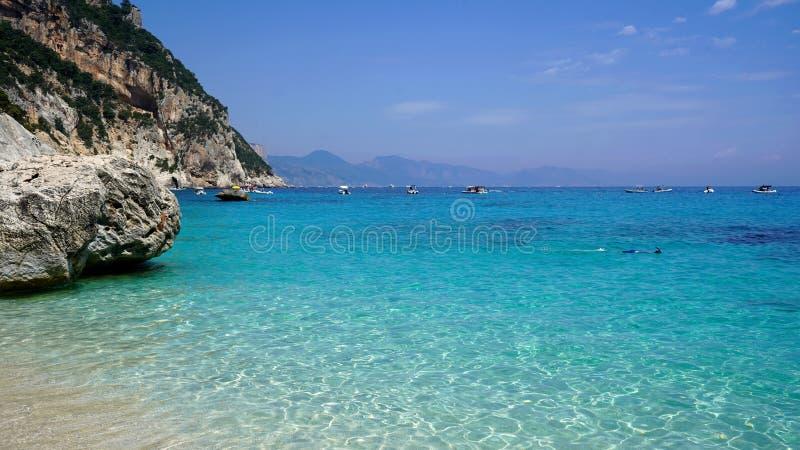 Cala Goloritze, Σαρδηνία, Ιταλία στοκ φωτογραφία με δικαίωμα ελεύθερης χρήσης