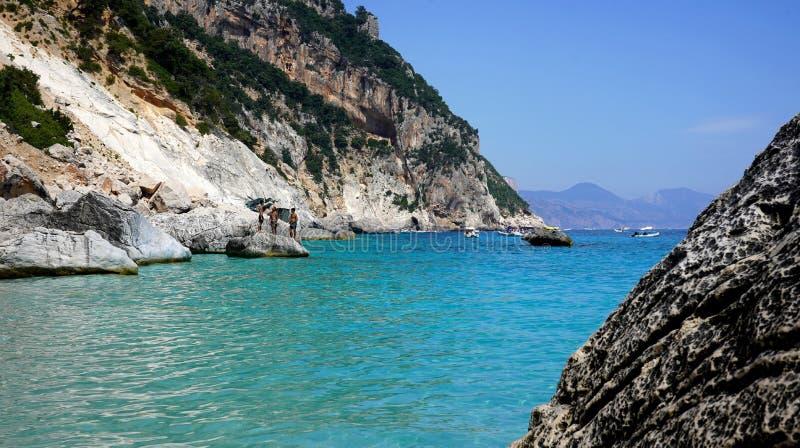 Cala Goloritze, Σαρδηνία, Ιταλία στοκ εικόνες με δικαίωμα ελεύθερης χρήσης