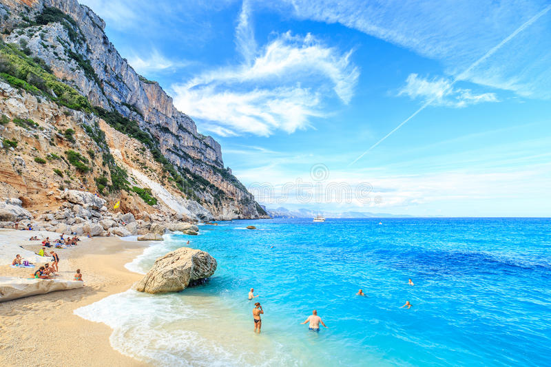 Cala goloritze beach sardegna editorial photography for B b budoni al mare