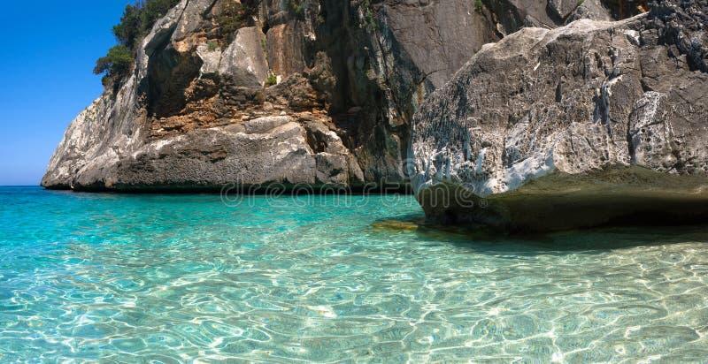 Cala Goloritze, Sardinia stock image