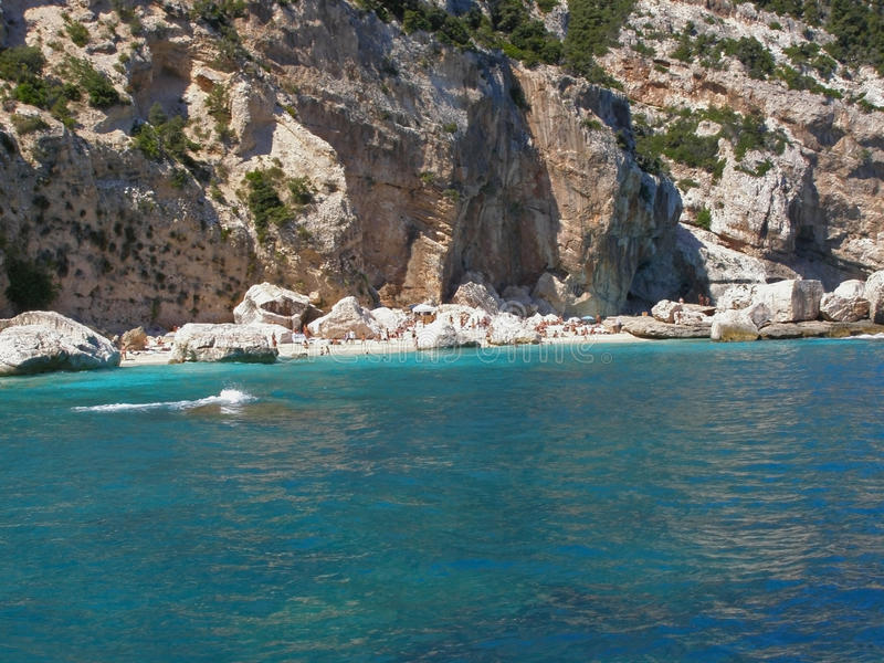 Download Cala Mariolu Beach In Sardinia - Italy Stock Photo - Image: 10325928
