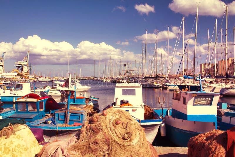 Cala, Palermo imagen de archivo