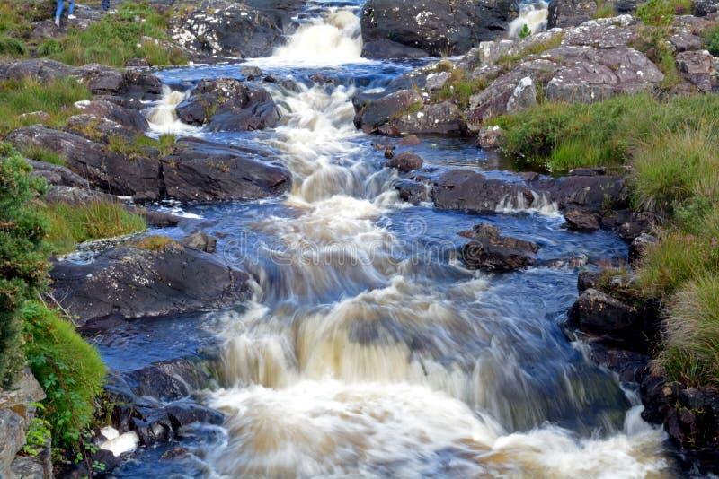 Cala, parque nacional de Connemara, Irlanda fotos de archivo