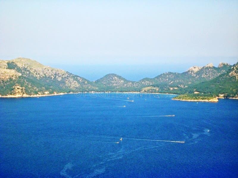 Cala pi de Λα Posada, Formentor, Majorca στοκ φωτογραφία με δικαίωμα ελεύθερης χρήσης