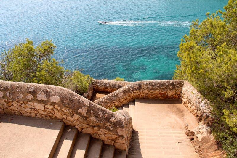 Cala Romantica, Majorca imagens de stock royalty free