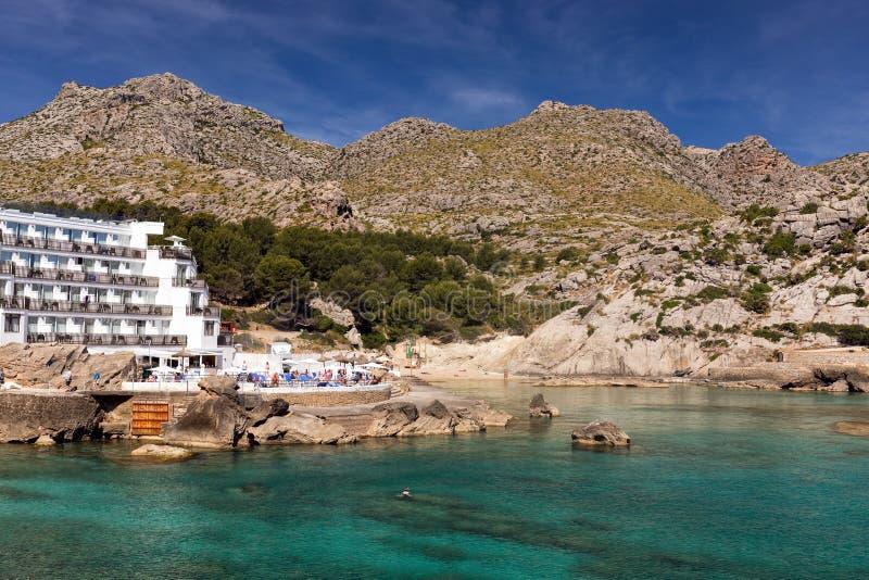 Cala Sant Vincente, Mallorca fotografia stock