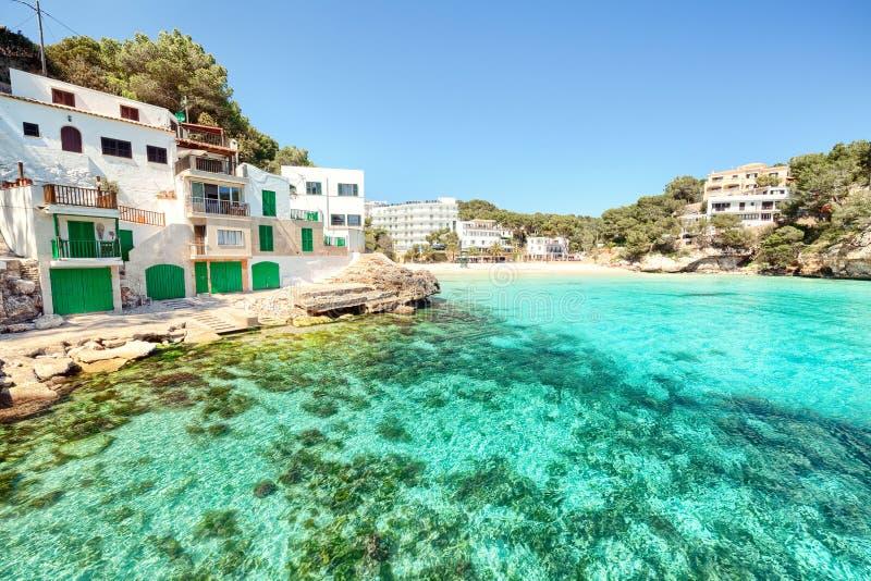 Cala Santanyi, Mallorca, Majorca, Espanha imagens de stock royalty free