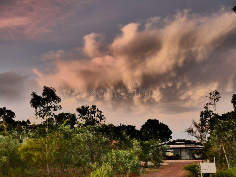 Cala tennant de Australia de la nube de Bush fotos de archivo libres de regalías