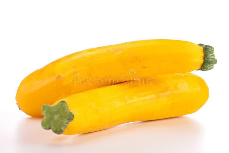 Calabacín amarillo foto de archivo libre de regalías