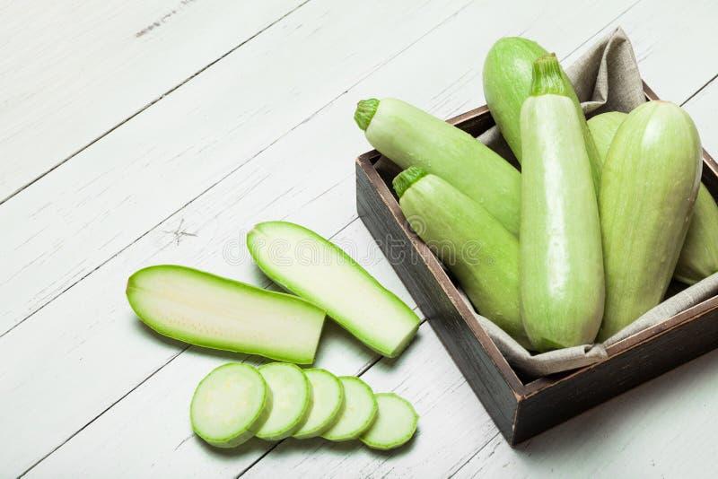 Calabac?n verde claro, calabaza de la agricultura Cierre del calabac?n para arriba imagenes de archivo