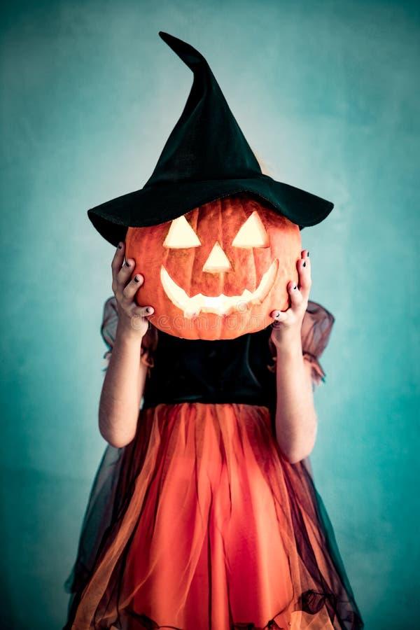 Calabaza Autumn Holiday Concept de Halloween imágenes de archivo libres de regalías