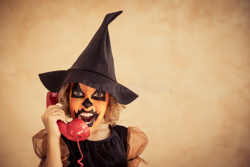 Calabaza Autumn Holiday Concept de Halloween fotos de archivo