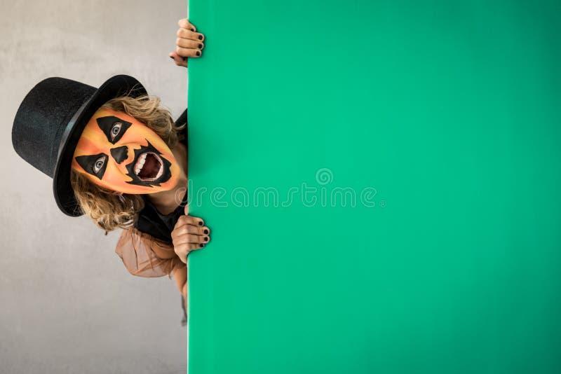 Calabaza Autumn Holiday Concept de Halloween fotos de archivo libres de regalías