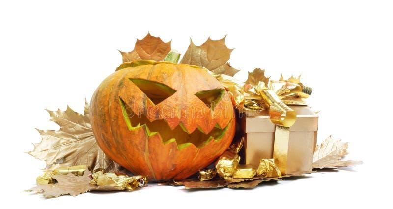 Calabaza de Halloween fotos de archivo