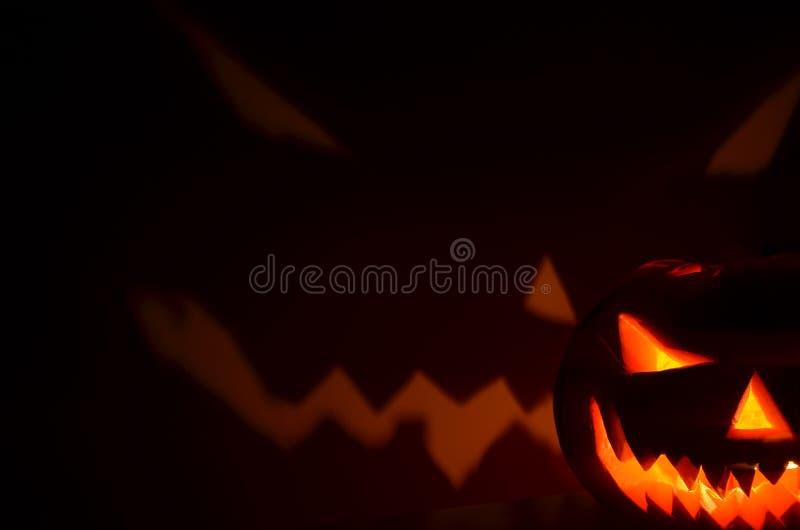 Calabaza-horror de Halloween imágenes de archivo libres de regalías