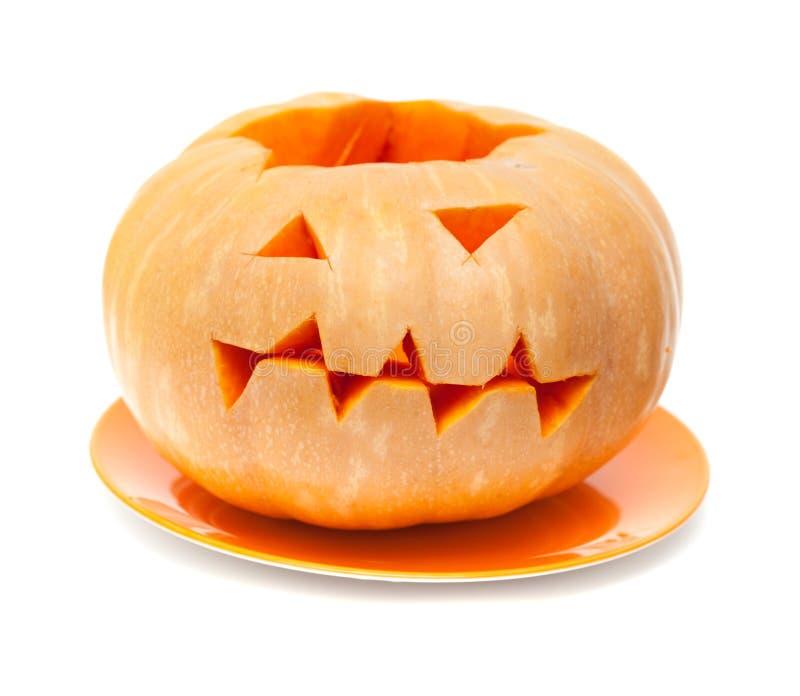 Calabaza inusual de Halloween imágenes de archivo libres de regalías