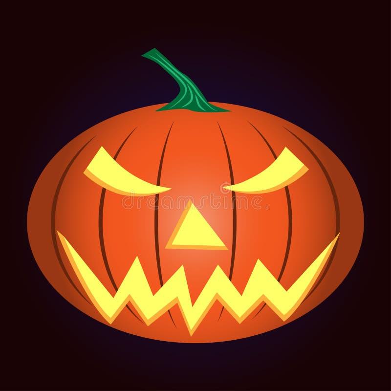 calabaza ligera Halloween libre illustration