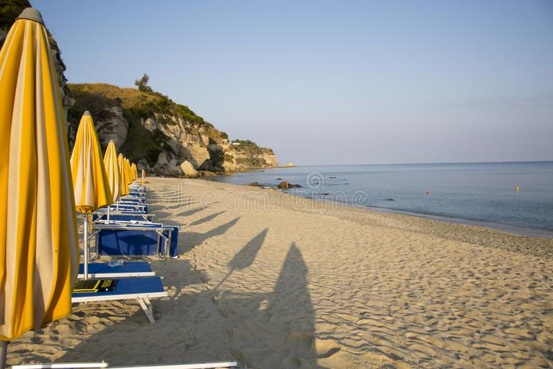 Calabria está situada en Italia al sudoeste fotos de archivo libres de regalías