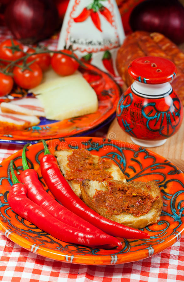 Free Calabria, Locale Food Stock Photography - 32757882