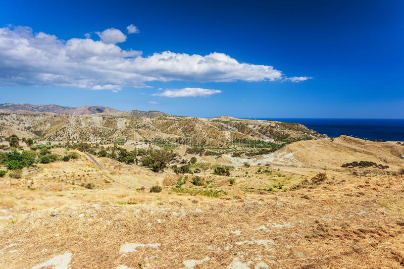 Calabrian landscape royalty free stock photography