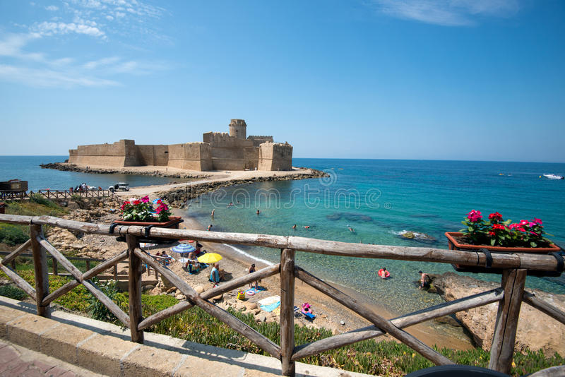 Calabrian semester arkivbild