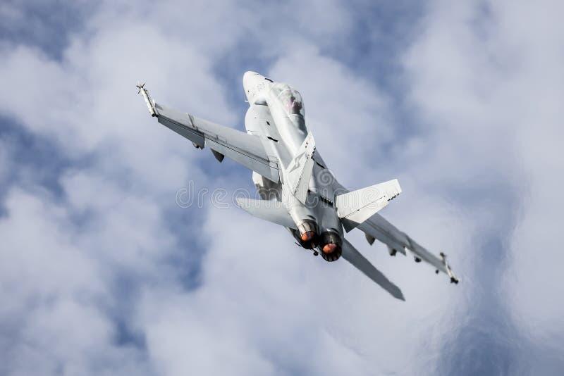 Calabrone eccellente di RAAF A44 Boeing FA-18F fotografie stock