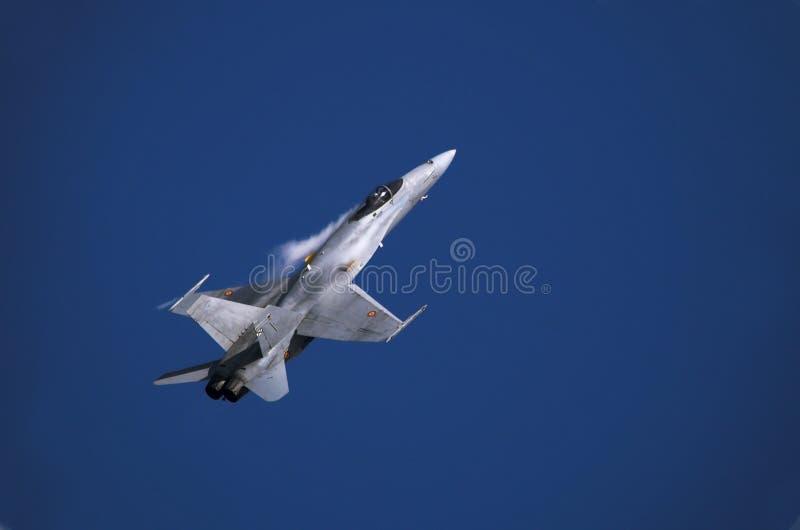 Calabrone F/A-18 fotografia stock