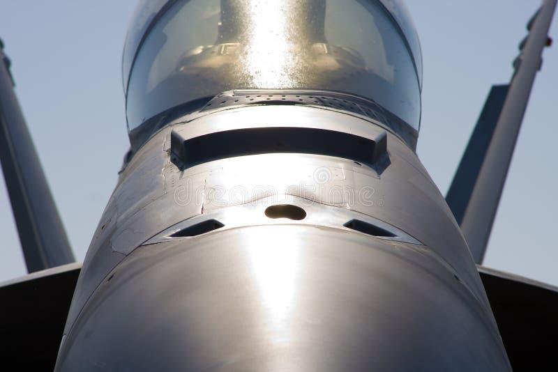 Calabrone F-18 fotografia stock