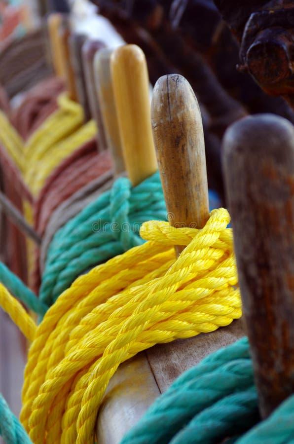 Calage de bateau images libres de droits