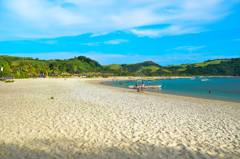 Calaguas Beach royalty free stock photo