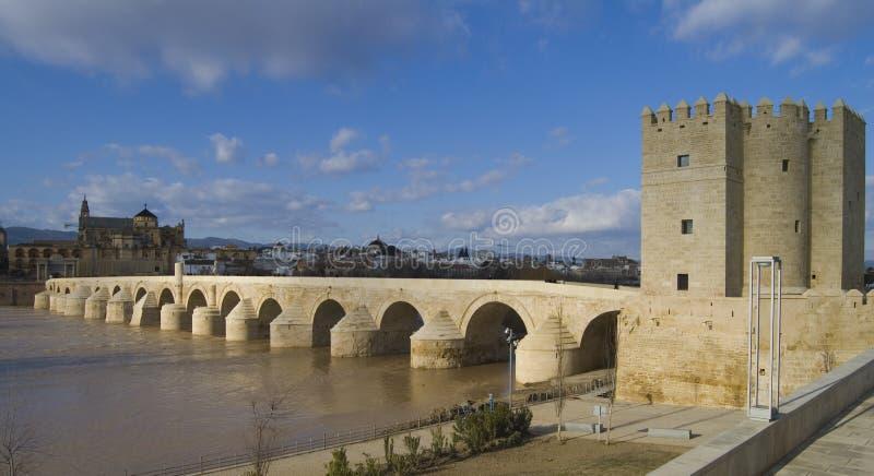 Download Calahorra And Roman Bridge In Cordoba Stock Photo - Image: 13059006