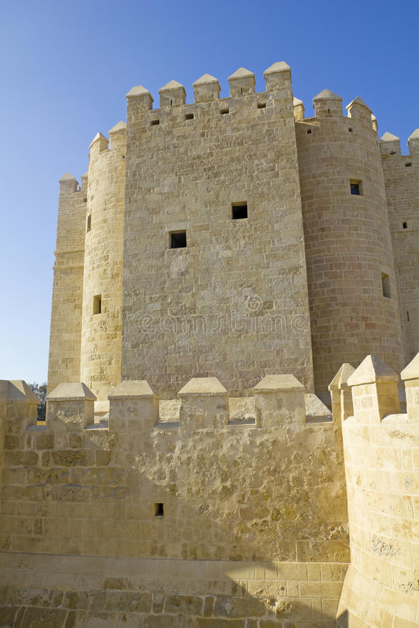 Calahorra Tower. Cordoba. Royalty Free Stock Photo