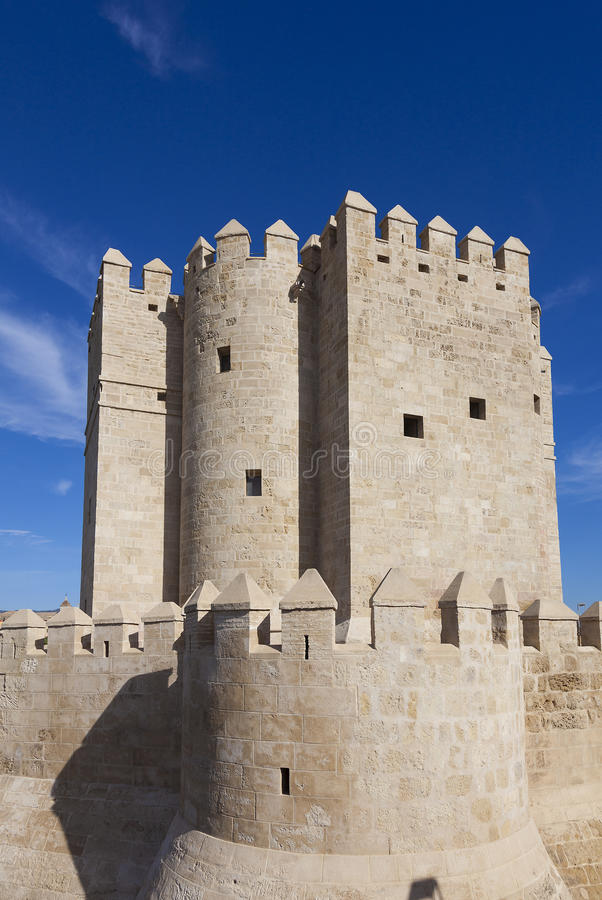 Calahorra tower, Cordoba. Calahorra tower in Cordoba, Andalucia, Spain royalty free stock photos