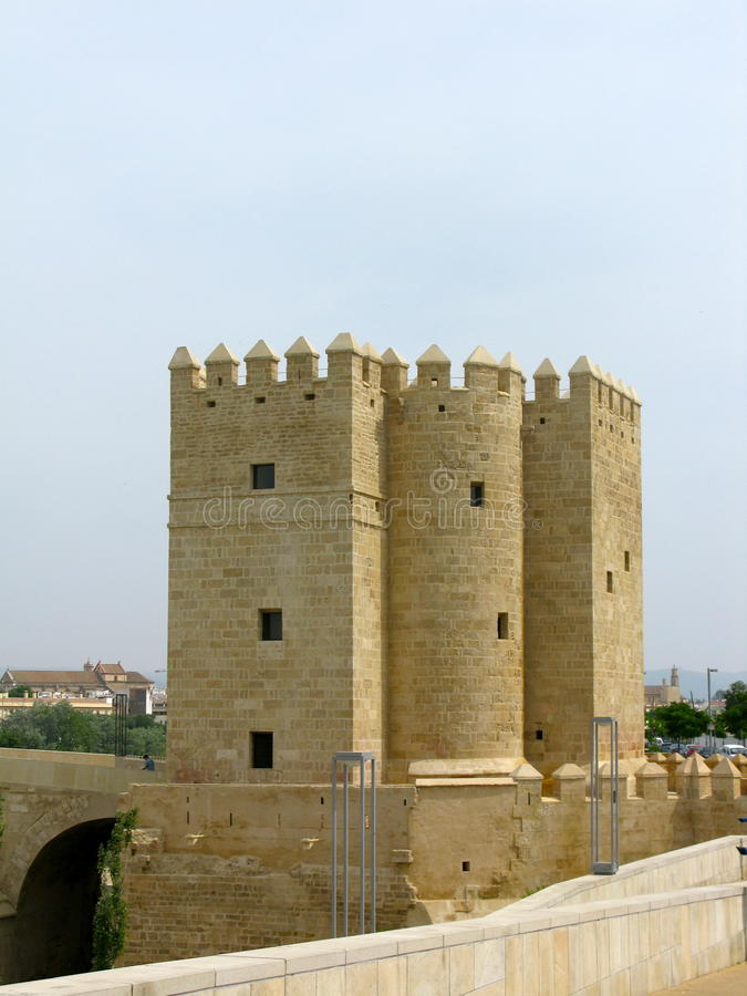 Calahorra Tower in Cordoba, Spain royalty free stock image